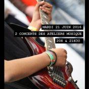Concert des ateliers Musique des élèves d'Epin